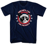 Grumpy Cat For President T-shirts
