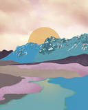 Tom Frazier - Colour Adventure Digitálně vytištěná reprodukce