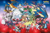 Pokemon- Mega Evolutions Prints