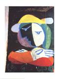 Femme au Balcon Prints by Pablo Picasso