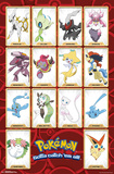 Pokemon- Gottah Catch All The Mythical Posters