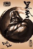 Star Wars- Darth Vader Sumi-E Photo