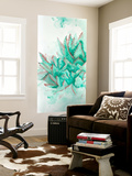 Turquoise Desert 3 Wall Mural by Allyson Fukushima