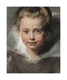 Portrait Of Clara Serena Rubens, c.1616 Premium Giclee Print by Sir Peter Paul Rubens