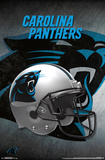 NFL: Carolina Panthers- Helmet Logo Pôsters