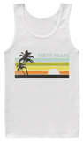 Tank Top: The Dirty Heads- Retro Lines Tank Top