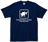 International Symbol for Politics T-shirts