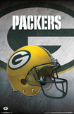 NFL: Green Bay Packers- Helmet Logo Posters