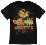 Stephen Fishwick: Woodstock- Fireworks Confetti Shirts by Stephen Fishwick