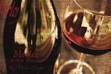 Red Wine Grape Impression giclée par Teo Tarras