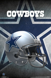 NFL: Dallas Cowboys- Helmet Logo Prints