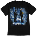 Stephen Fishwick: Pink Floyd- Wish You Were Here BLK Shirt by Stephen Fishwick