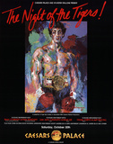 The Night of the Tigers Posters by LeRoy Neiman