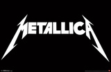 Metallica- White Block Logo Photo