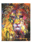 Lion Posters by LeRoy Neiman