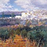 Landscape II Giclee Print by  Malva