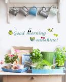 Soleil de beau matin Adhésif mural