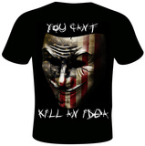 Daveed Benito- Can't Kill an Idea Shirts by Daveed Benito