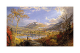 Starrucca Viaduct, Pennsylvania, 1865 Premium Giclee Print by Jasper Francis Cropsey