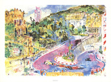 Loews Monte Carlo Prints by LeRoy Neiman