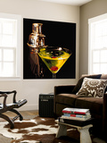 Appletini Wall Mural by Ray Pelley