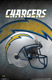 NFL: San Diego Chargers- Helmet Logo Poster
