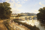 Richmond on Thames Giclee Print by Edmund John Niemann