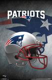 NFL: New England Patriots- Helmet Logo Poster