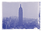 New York City In Winter VII In Colour Giclee Print by  British Pathe