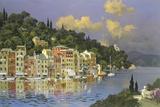 Portofino Sunlight Giclee Print by Lucio Sollazzi