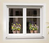 Springtime Window Decal