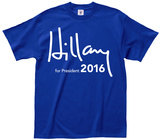 Hillary Presidential Signature T-shirts