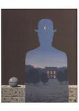 L'Heureux Donateur Posters av Rene Magritte