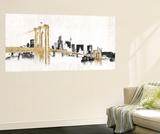 Skyline Crossing Reproduction murale par Avery Tillmon