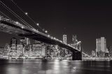 Midnight Bridge Gicléedruk van Alan Copson