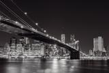 Midnight Bridge Giclée-vedos tekijänä Alan Copson