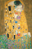Gustav Klimt- The Kiss Posters by Gustav Klimt
