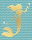 Mermaid Star Reproduction procédé giclée par Sasha Blake