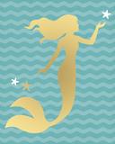 Mermaid Star Giclee Print by Sasha Blake