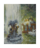 Gallant Party Premium Giclee Print by Gaston La Touche