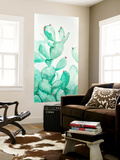 Turquoise Desert 2 Wall Mural by Allyson Fukushima