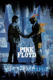 Stephen Fishwick: Pink Floyd- Wish You Were Here Distressed Kunstdrucke von Stephen Fishwick