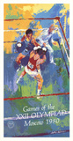 Games of the XXII Olympiad, Moscow Posters by LeRoy Neiman
