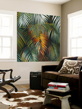Tropical Suite VI Wall Mural by Nyoman Sudarsa