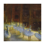 The Ballet Premium Giclee Print by Gaston La Touche