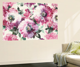 Floral Gallery Wall Mural by Wild Apple