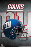 NFL: New York Giants- Helmet Logo Posters
