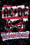 Stephen Fishwick: AC/DC- We Salute You Striped Posters par Stephen Fishwick