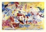 Games of the XXI Olympiad Prints by LeRoy Neiman