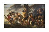 The Ferry Boat to Antwerp, c.1623 Premium Giclee Print by Jacob Jordaens